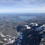 Ballonfahrt Alpen Chiemsee