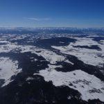 Winter Ballonfahrt Oberbayern